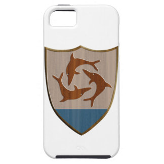 Anguilla Coat of Arms iPhone SE/5/5s Case