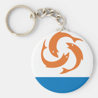 Anguilla Coat Of Arms Keychain
