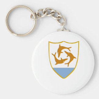 Anguilla Coat of Arms Key Chain