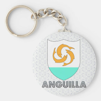Anguilla Coat of Arms Key Chains