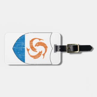 Anguilla Coat Of Arms Luggage Tag