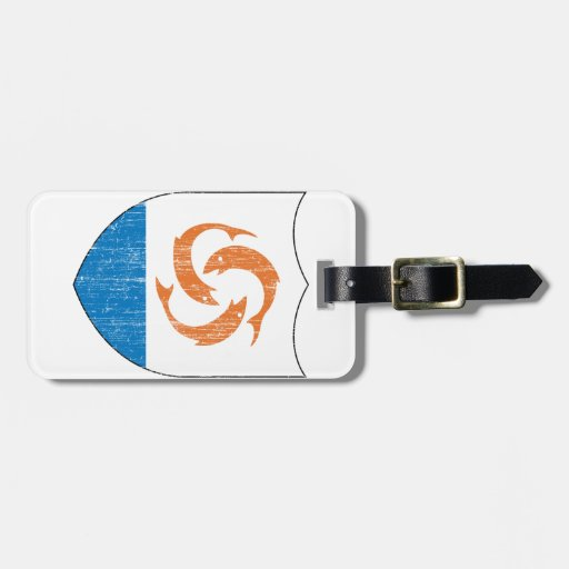 Anguilla Coat Of Arms Luggage Tags