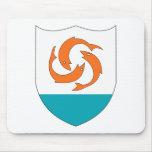 Anguilla Coat of Arms Mousepad