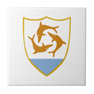Anguilla Coat of Arms Tile