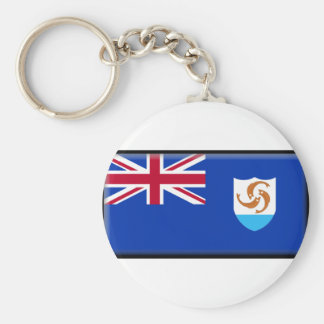 Anguilla Flag Key Chains
