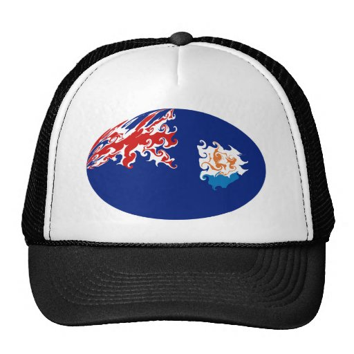 Anguilla Gnarly Flag Hat