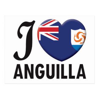 Anguilla Love Postcard