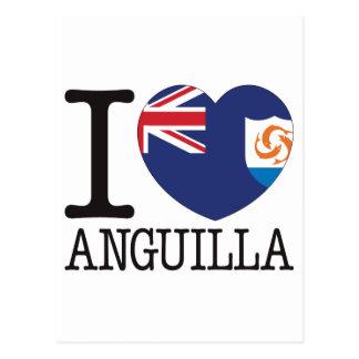 Anguilla Love v2 Postcard