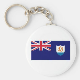 Anguilla National Flag Keychain