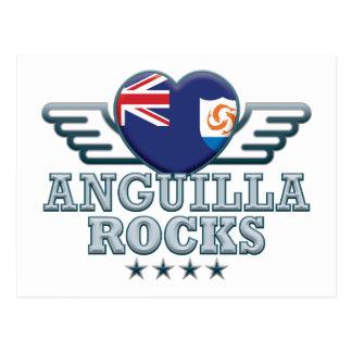 Anguilla Raocks v2 Postcard