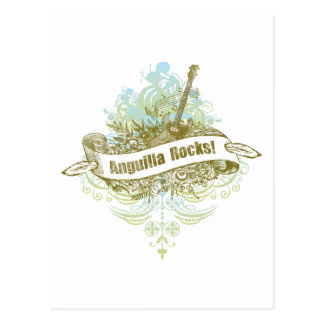 Anguilla Rocks Postcard