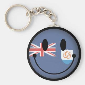 Anguilla Smiley Keychains