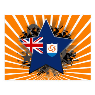 Anguilla Star Postcard