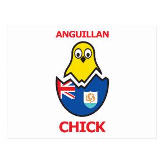 Anguillan Chick Postcard