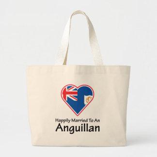 Anguillan feliz casado bolsas