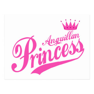 Anguillan Princess Postcard