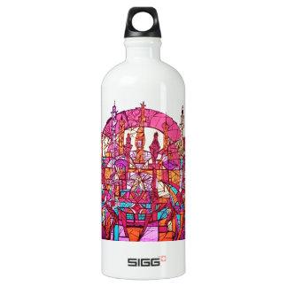 Anguilu Art Aluminum Water Bottle
