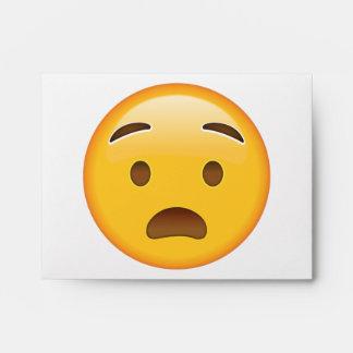 Anguished Face - Emoji Envelope