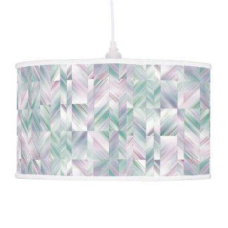 angular abstract hanging pendant lamp