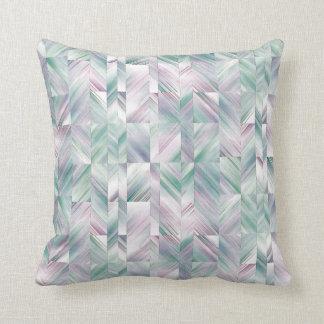 angular abstract pillow