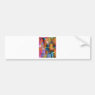 Angular ocular seasons greetings bumper sticker
