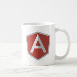 AngularJS Escudo Logotipo Taza Clásica