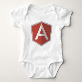 AngularJS Shield Logo Baby Bodysuit