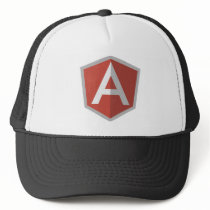 AngularJS Shield Logo Trucker Hat