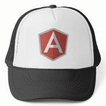 AngularJS Shield Logo Trucker Hat