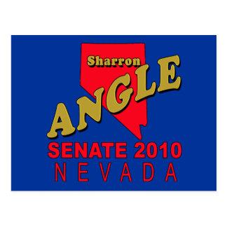 Ángulo de Sharron para las camisetas del senado, Tarjeta Postal