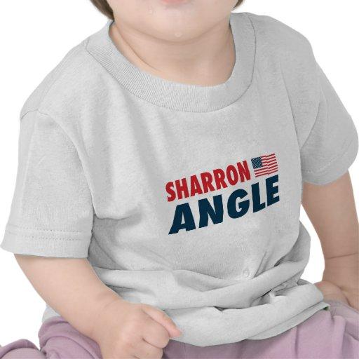 Ángulo de Sharron patriótico Camiseta