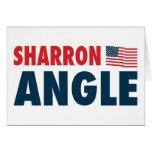 Ángulo de Sharron patriótico Felicitación