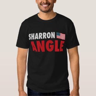 Ángulo de Sharron patriótico Playera