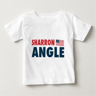 Ángulo de Sharron patriótico Remera