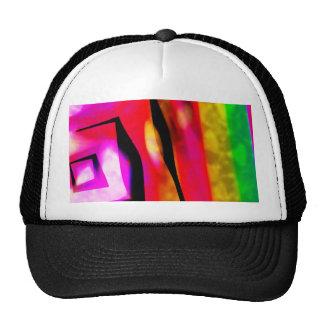 Ángulos y líneas abstractos gorra