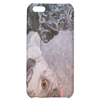 Angus and Turnip Pugs Cover For iPhone 5C