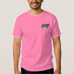 Angus Bull Embroidered T-Shirt