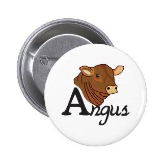 Angus 2 Inch Round Button