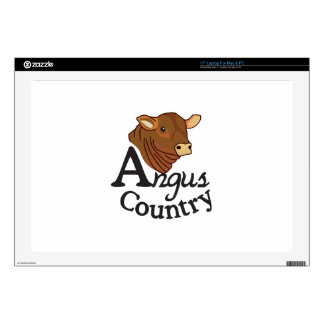 """Angus Country 17"""" Laptop Decal"""