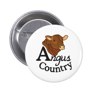 Angus Country 2 Inch Round Button