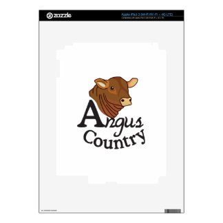 Angus Country Decals For iPad 3