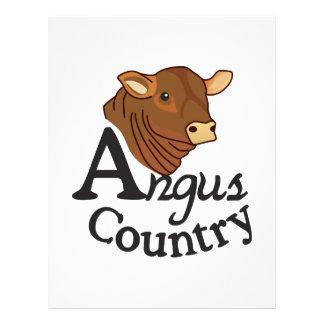 Angus Country Letterhead