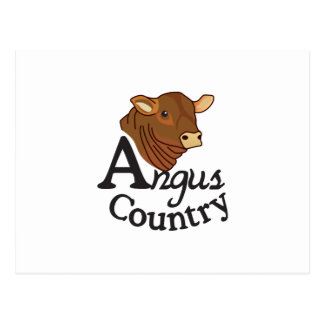 Angus Country Postcard