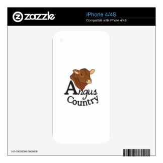 Angus Country Skins For iPhone 4S