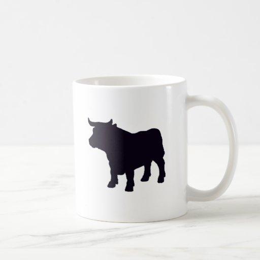 Angus el toro tazas de café