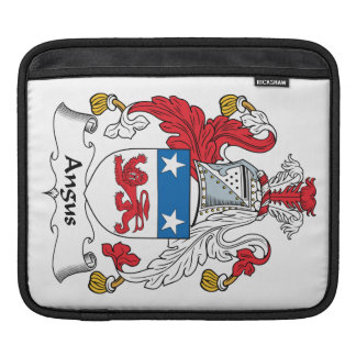 Angus Family Crest Sleeve For iPads
