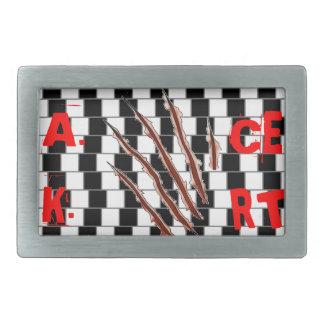 Angus khan buckle rectangular belt buckle