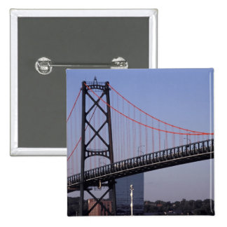 Angus L Macdonald Bridge, Halifax, Nova 2 Pinback Button