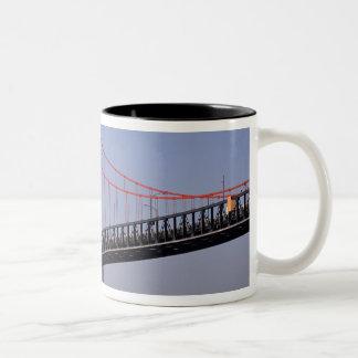 Angus L Macdonald Bridge, Halifax, Nova 2 Two-Tone Coffee Mug