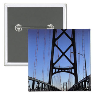 Angus L Macdonald Bridge, Halifax, Nova Pinback Button